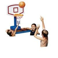 Swim Sportz Poolside Basketball Pool Games, Kid Pool, Sports Brands, Beach Pool, Gifts For Boys, Water Sports, Surfing, Basketball, Blue And White
