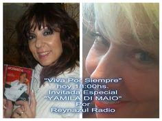 """REYNAZUL TU RADIO AMIGA... Y VIVA POR SIEMPRE...: HOY 18:00HS. EN """"VIVA POR SIEMPRE"""" INVITADA ESPECI..."""