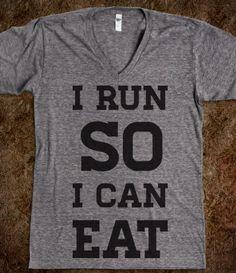 I Run So I Can Eat
