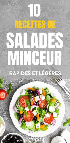 10 Recettes de Salade Minceur pour Dans cet article, 10 Slimming Salad Recipes for the Past In this article, check out 10 Slimming Salad Recipes for the fast, easy, luscious and delicious for a loss. Summer Grilling Recipes, Summer Salad Recipes, Summer Salads, Healthy Summer, Diet Recipes, Healthy Recipes, Cooking For One, Healthy Snacks, Food And Drink