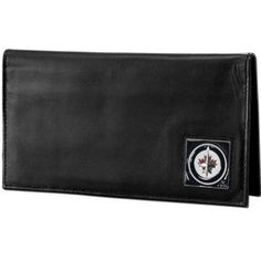 Winnipeg Jets™ Deluxe Leather Checkbook Cover