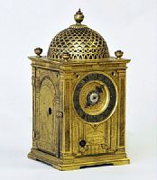 A 17th century bracket clock, sent as a gift from Philip III of Spain to the 1st Shogun of Japan. It is to be studied by British Museum soon.