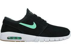 7bb03ed20699 Nike SB Janoski Max Womens Shoes Green Glow Nike Sb Janoski