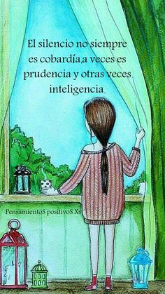 """""""Recovery in Spanish"""" Anonymous. Translation: """"Silence is not always cowardice… - Quotes Words Quotes, Me Quotes, Motivational Quotes, Strong Quotes, Attitude Quotes, More Than Words, Some Words, Positive Thoughts, Positive Quotes"""