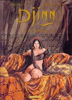 Djinn, tome 1 : La favorite de Dufaux et Mirallès