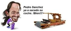 BROMAS: La marca del coche de Pedro Sánchez es 'Podemos' Funny Pictures, Pranks, Funny