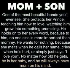 Mother And Son Quotes 652 Best Mother and son Quotes images | Son quotes, Thinking about  Mother And Son Quotes