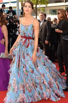 Charlotte Casiraghi, face of Gucci Cosmetics, Montblanc's global brand ambassador, eighth in line to the throne of Monaco. In a Gucci gown at the Cannes Film Festival | IBDL 2015 Women