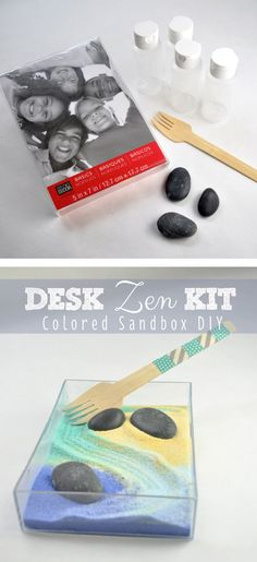 Desk Zen Kit DIY - great for a zen new year
