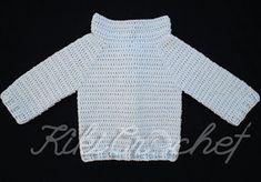 Kiki Crochet: Πλεκτο Ευκολο Παιδικο Ζακετακι (φωτο & βιντεο) Crochet For Kids, Crochet Baby, Sweaters, Blog, Fashion, Moda, Fashion Styles, Fasion, Sweater