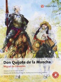 Don Quijote de la Mancha (Spanish Edition) by Miguel de Cervantes, http://www.amazon.com/dp/8431673966/ref=cm_sw_r_pi_dp_M5NArb1VZ3V0K