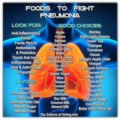 Foods To Fight Pneumonia