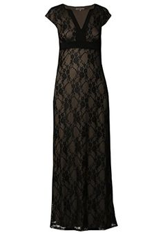 Maxi Evening Dress Women Elegant Lace Print Sleeves Wedding Party  Anna Field * Click image to review more details.