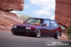 London's Mk2 VW GTI VR6 on BBS RS' - 7056