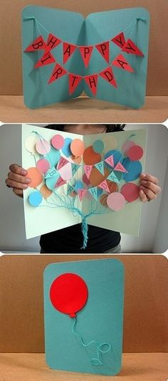 sooo cute! one lucky friend with the next birthday will def. be getting this DIY card!