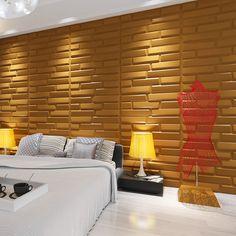 3D Bricks Wall Panels