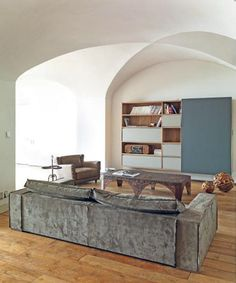 A Medieval Monastery Becomes a Modern Family Home