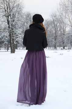Dreamy Maxi Skirt tutorial