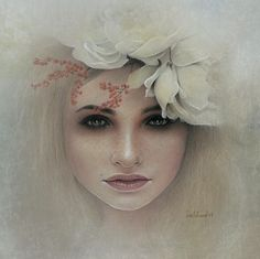 This is a piece by Bec Winnel, a self taught artist and illustrator....Oh that I should someday be able to create such work...she is amazing.....almost looks like a photograph...I love the vintage feel....it's a soulful photo....~neilsonpm