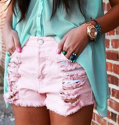 pink out fit MK
