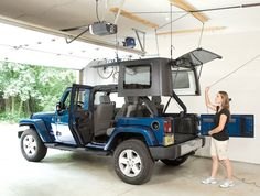 Harken Hoister Garage Storage 4-Point Lift System