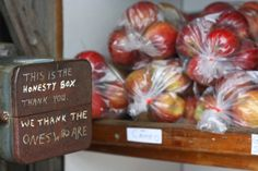 An aspect of #Tasmania life which is still alive and well in many roadside stalls is the 'honesty box'. #lovethisplace #travel