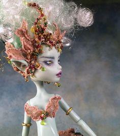 """Dulcinea"" OOAK Monster High Custom Fairy Doll by Renee Coughlan of One & Only Dolls http://www.oneandonlydolls.com/salesroom.htm"