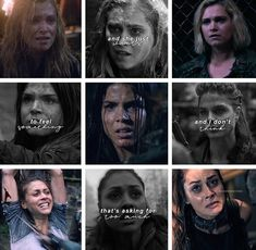 The 100 Grounders, The 100 Show, Quote Aesthetic, Life Quotes, Feelings, Tv, Drawings, Girls, The 100