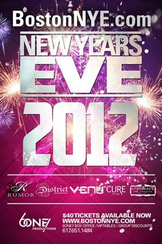 New Year Eve Flyer Template  Adobe New Years Party And Texts
