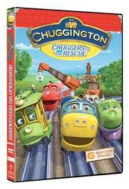 Chuggers To The Rescue Kids DVD