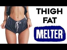 How To Lose Thigh Fat Fast | 4 Amazing Exercises To Lose Thigh Fat For Thinner Legs! - YouTube More