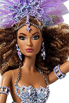 DGW47 DIRECT EXCLUSIVE Luciana BRAZILIAN BRILLIANCE Barbie Doll 2016 NEW! * Check out the image by visiting the link.