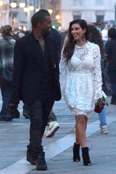Fashionably Fly: Kim & Kanye Take Rome