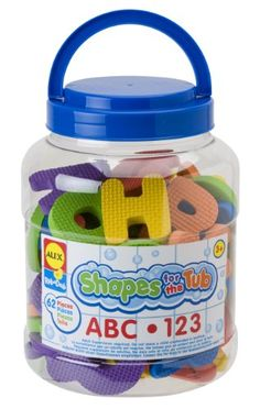 $12.93 Alex Shapes for the Tub ABC 123 ALEX Toys http://www.amazon.com/dp/B000246L8E/ref=cm_sw_r_pi_dp_mraYvb0G7389G