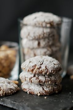nutcrackle - chewy nutella cookies