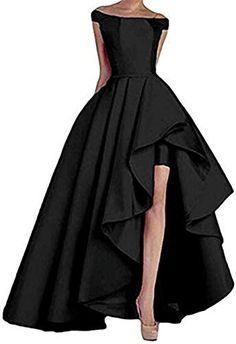 Find Prom Dresses Long High Low Women's Off The Shoulder Evening Formal Dress Ball Gowns online. Shop the latest collection of Prom Dresses Long High Low Women's Off The Shoulder Evening Formal Dress Ball Gowns from the popular stores - all in one High Low Evening Dresses, Evening Dresses For Weddings, Long Evening Gowns, Party Dresses For Women, Evening Party, High Low Gown, Bridal Dresses, Bridesmaid Dresses, Prom Dresses Two Piece