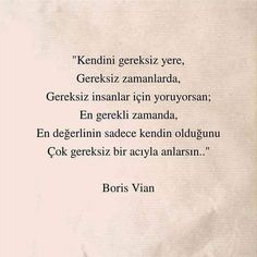 Book Quotes, Me Quotes, Boris Vian, Favorite Words, Beautiful Words, Cool Words, Quotations, Texts, Literature
