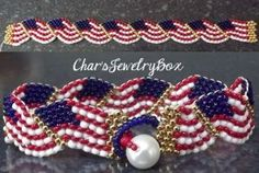 "I added ""Patriotic Bracelet Wavy Flags"" to an #inlinkz linkup!http://holidaystockingco.com/gifts.html"