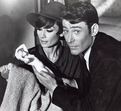 How to steal a million. Audrey Hepburn and Peter O'Toole 1966