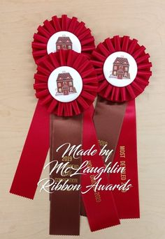 Rosette Centre Boards x 25 PRINTED with SHOW EVENT NAME Recycle rosettes
