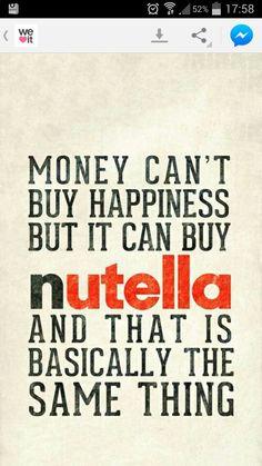 nutella happiness