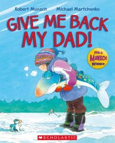 Give Me Back My Dad!  Questions, math and reading activities