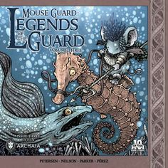 Mouse Guard: Legends of the Guard vol3 #3 cover by David Petersen