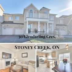 Stunning 3 bedroom, bath Freehold Town Home in Fifty Point, Stoney Creek. Backs on to Fifty Point Conservation Area.