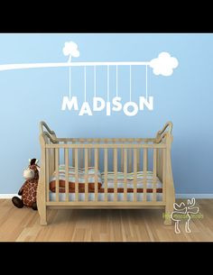 Baby Name Decal