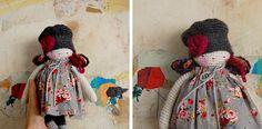 Muñeca amigurumi tejida con lana. Regalo de cumple para mi hermana.