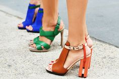 STREET STYLE ROUND UP: THE SHOES | Luella & June