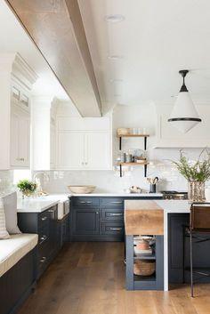 Home Decor Kitchen, Interior Design Kitchen, Diy Kitchen, Kitchen Furniture, Kitchen Cabinets, Kitchen Ideas, Kitchen Designs, Kitchen Hacks, Kitchen Layout
