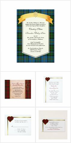Scottish Plaid Weddings