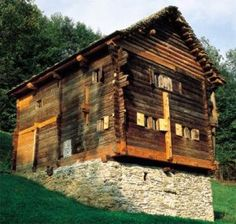 Bauernhaus Malvaglia TI Ballenberg